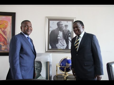 Dangote to set up cement plant in Zim