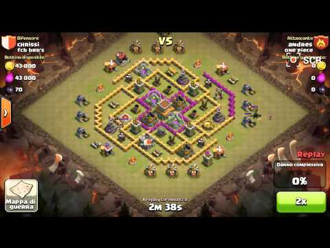 Clash Of Clans - Clans War- One Piece Vs Fcb Bro's