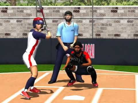 ASA Softball Umpire Training Animation Vol. 1