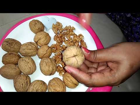 Easy way to open walnut shell.(walnut method)