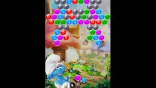 Smurfs Bubble Story Level 53 - NO BOOSTERS