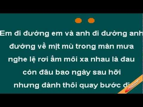Moi Tinh Choi Voi Karaoke - Van Quang Long - CaoCuongPro