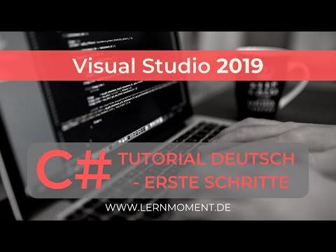 Visual Studio 2019 installieren & erste Anwendung erstellen
