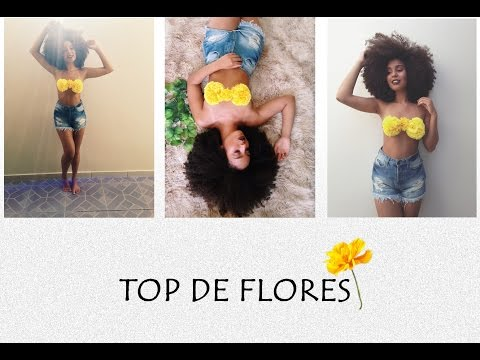 TUTORIAL TOP DE FLORES - CRIS OLIVEIRA