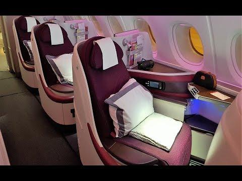 Qatar Airways A380 Business Class