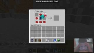 Minecraft:como fazer escudo do captão america (SEM MOD) e (SEM COMANDO)