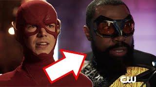 Crisis on Infinite Earths Extended Trailer Breakdown - The Flash Meets Black Lightning