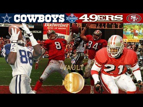 Third Time's The Charm! (Cowboys vs. 49ers, 1994 NFC Championship) | NFL Vault Highlights