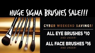 LIVESTREAM: HUGE Sigma Brushes Sale || My Favorite Sigma Brushes