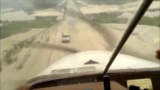 Посадка на мост в  ХМАО