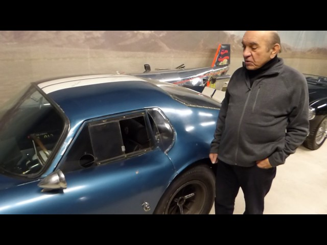 Dr. Fred Simeone Talks About His Shelby Daytona Coupe (One of Six)