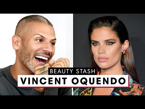 Celebrity Makeup Artist Vincent Oquendo's Dreamy Beauty Stash | The Beauty Show | Harper's BAZAAR