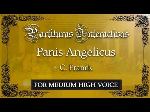 Panis Angelicus - C. Franck (Karaoke - Key: G major)