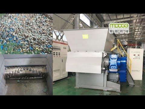 93-VS-40120 Single Shaft Shredder Machine For Pallets Shredding