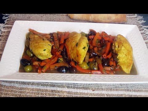 recette-à-la-poêle:-mijoté-de-poulet-en-sauce