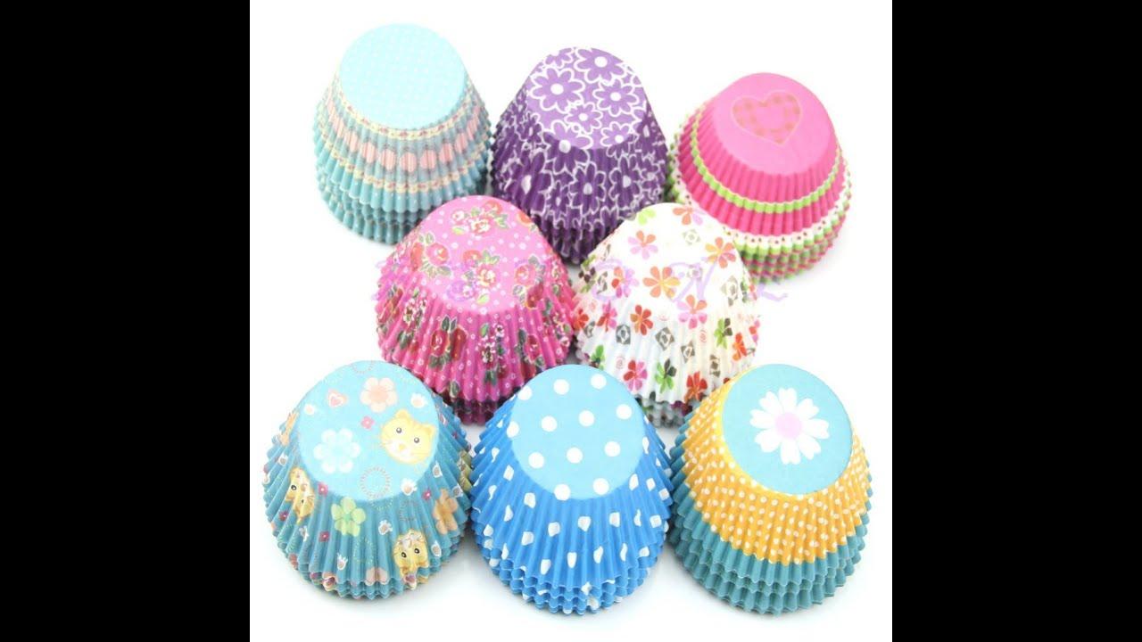 Бумажные формы для кексов, маффинов. Molds for cupcakes. Muffin .
