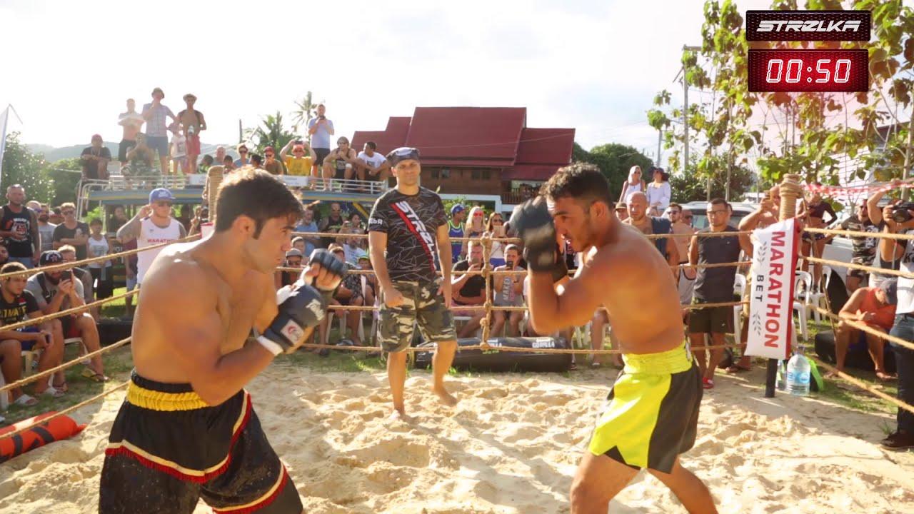 WILD BOXER vs IRAN MMA fighter  !!! Crazy strike !!!!