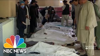 Deadly School Bombing in Afghanistan | NBC Nightly News