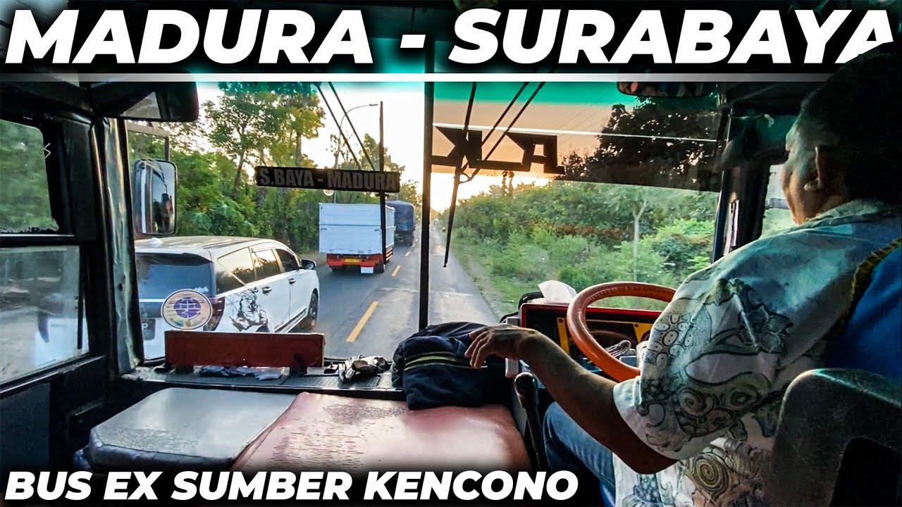 BUS EXS SUMBER KENCONO | Trip Bus Akas Sumenep - Surabaya .