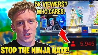 Tfue GOES OFF and BANS EVERYONE Hating on Ninja! (Trash Talkers DESTROYED With FACTS)