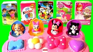 disney baby minnie mouse pop up pals awesome surprise toys daisy duck lady and tramp princess sofia