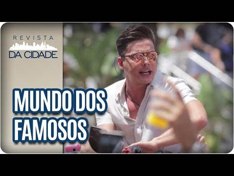 Wesley Safadão, Chris Flores e Pedro Bial - Revista da Cidade (17/04/2017)