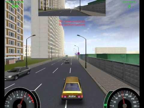 Глюк в игре самоучитель вождения по городу 2005