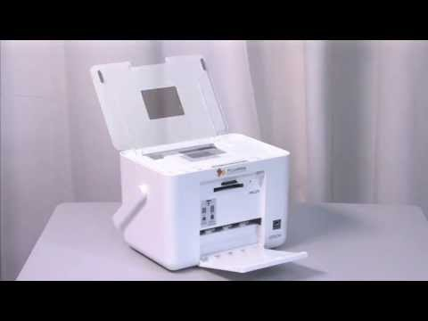 Epson PictureMate Charm Compact Photo Printer - PM 225 Video Review