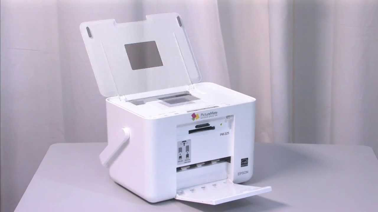 Epson Picturemate Charm Compact Photo Printer Pm 225