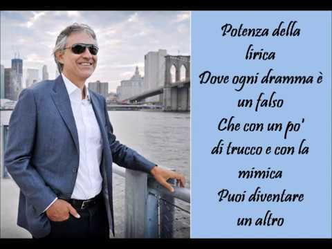 Andrea Bocelli - Caruso Lyrics | MetroLyrics