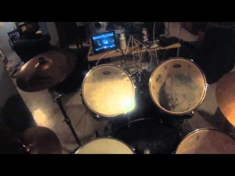 Welcome To The Family - Drum Cover - GoPro - First Person View