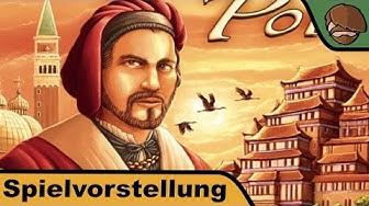 Auf den Spuren von Marco Polo (Deutscher Spielepreis 2015) - Spielvorstellung und Regeln
