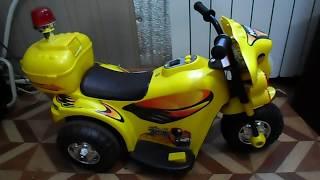 Переделка детского электромотоцикла своими руками