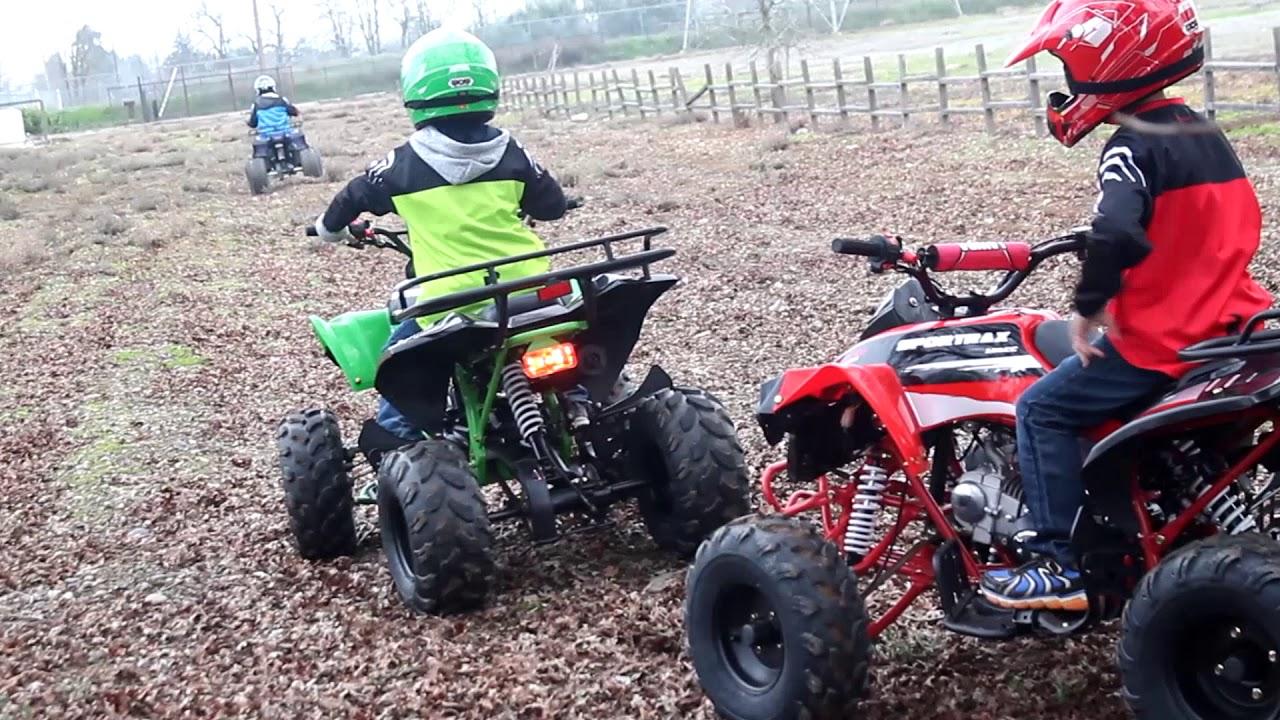 Apollo Sportrax ATV 125cc Part 2