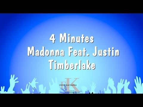 4 Minutes - Madonna Feat. Justin Timberlake (Karaoke Version)