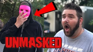 MR PINK UNMASKED! HE CHASED US DOWN THE STREET!