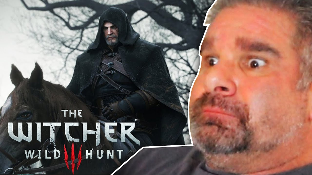"""Dad Reacts to """"Killing Monsters"""" Cinematic - The Witcher 3: Wild Hunt thumbnail"""