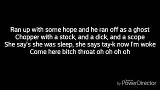 Tay K -Murder She Wrote (Lyrics)