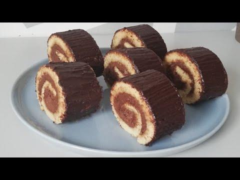 comment-faire-un-gâteau-au-chocolat🍫-|-gâteau-roulé---facile-à-faire-|-rolled-cake🍫