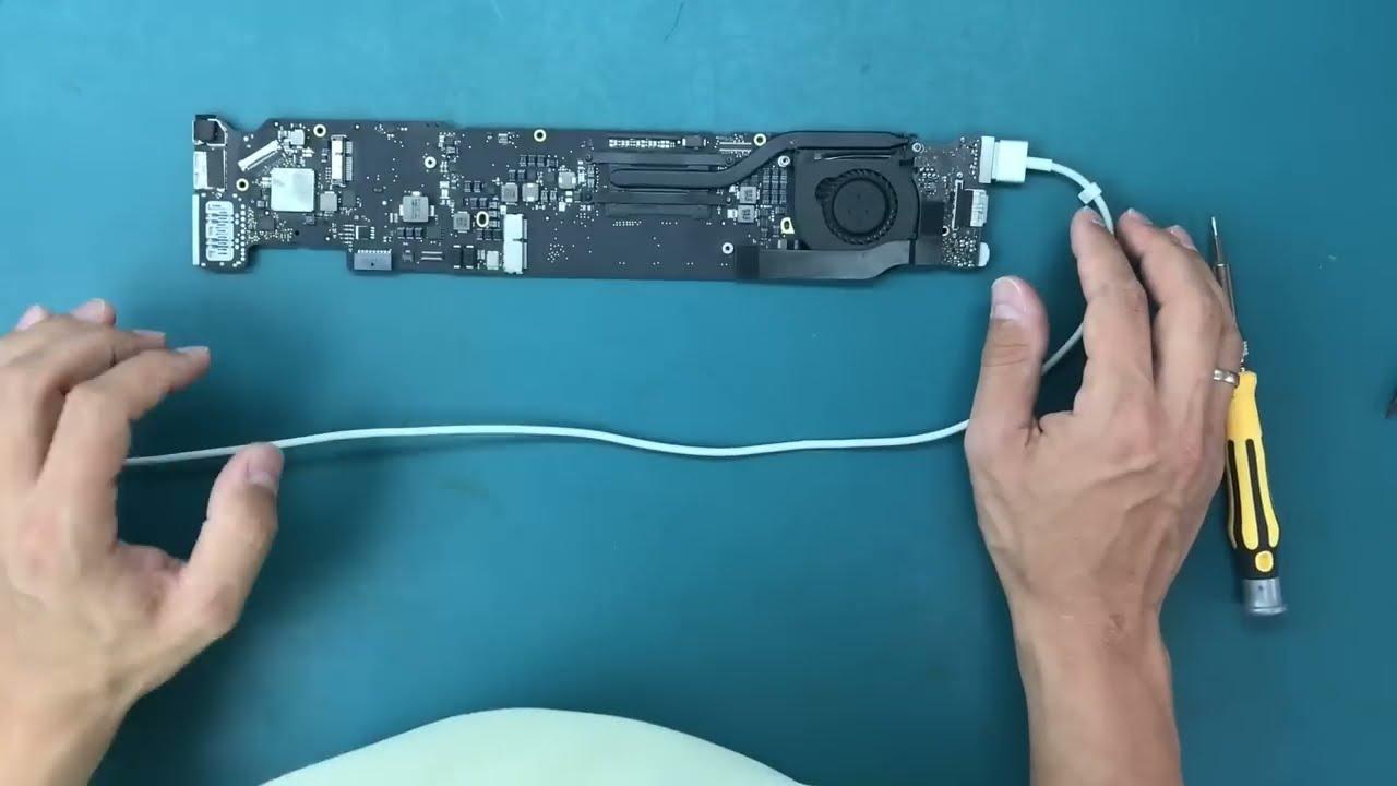 Diy Repair Liquid Damage A1466 Macbook Air 13