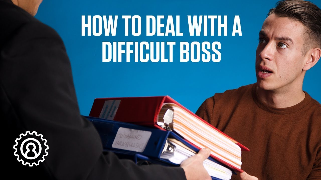 how to deal with boss