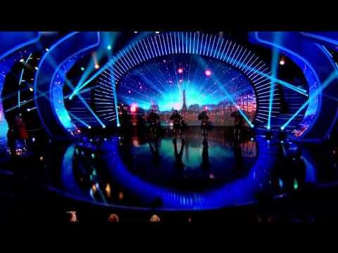 La France A Un Incroyable Talent 1014 - Spectacle De Danse LED - La Haut Incroyable Talent