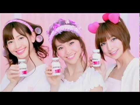 AKB48に人気なハイチオールB+酵素でお肌すべすべ!