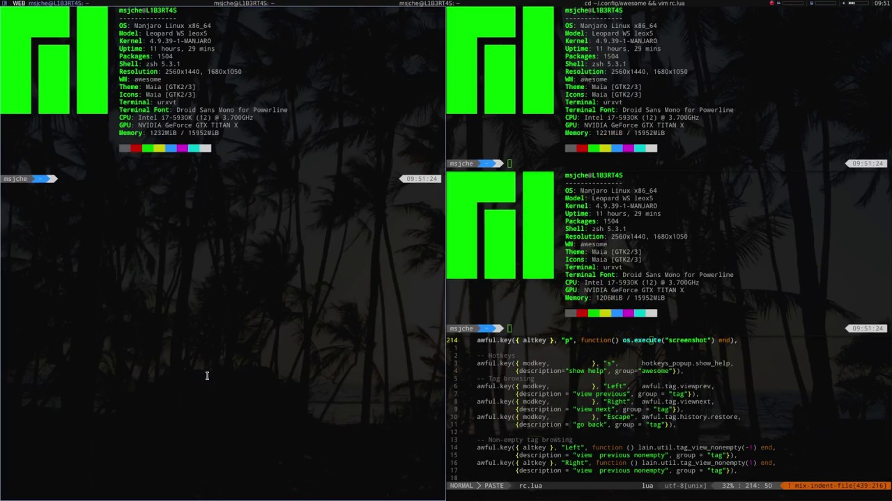 Customize Awesome WM 4 - Pt  2 - Let's See What's in rc lua