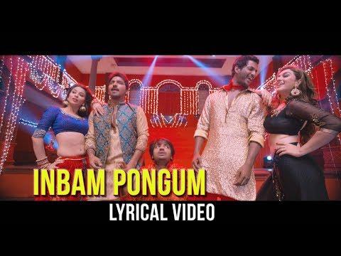 Inbam Pongum Vennila Remix Song | Hip Hop Tamizha | Vishal | Hansika | Ambala Movie