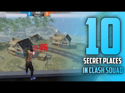 TOP 10 CLASH SQUAD SECRET PLACES para SAMSUNG,A3,A5,A6,A7,J2,J5,J7,S5,S6,S7,S9,S10,A20,A30,A50,A70