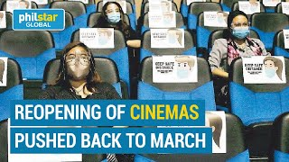 Reopening of cinemas pushed back to March 1