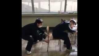 Прикол в китайской школе 2015 HD