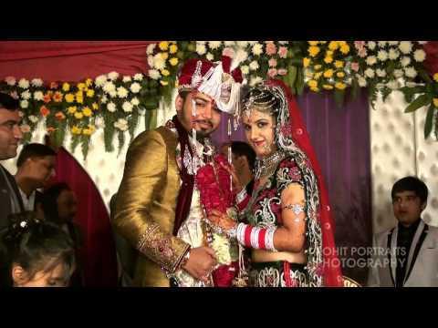 Vikas & Jyoti # Wedding Hilights # Rohit Portraits Photography