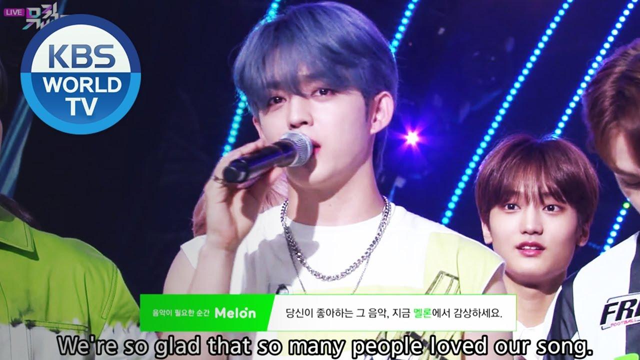 Winner S Ceremony Seventeen Music Bank Eng 2020 07 03 Youtube